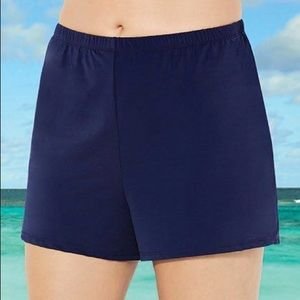 Swimsuits For All NWT Navy Loose Swim Short, 20